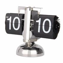 Betus Retro Flip Desk Shelf Clock Classic Mechanical-Digital Display 8x6... - $45.49