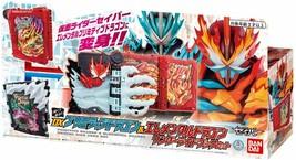 Kamen Rider Saber DX Primitive Dragon & Elemental Dragon Wonder Ride Boo... - $102.85