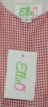 Ellie O Gingham Full Lined Longall Size 2 Color Red Cotton Polyester Blend image 2