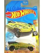 2021 Hot Wheels #35 Experimotors 4/10 HW FORMULA SOLAR Yellow/Green w/Bl... - $6.85