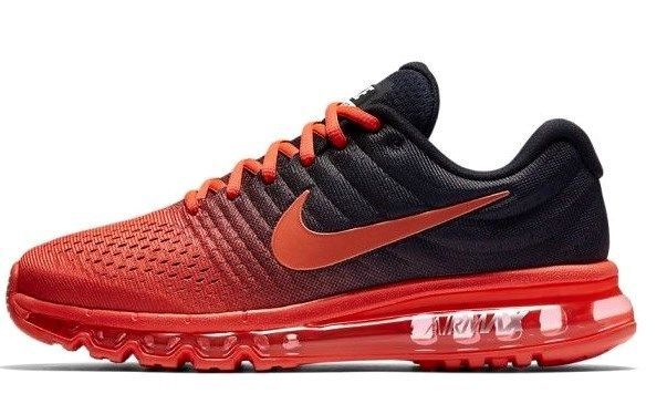 best service 0eb39 d227a Nike Air Max 2017 Running Shoes RED BLACK and 44 similar items. 57
