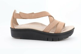 Abeo Taupe Sandals Taupe Size US 7 Neutral Footbed (EPB)4059 - £53.39 GBP