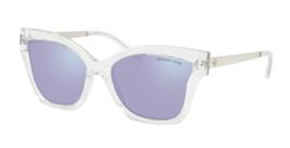 MICHAEL KORS Sunglasses BARBADOS MK 2072 30502S Crystal Clear w/ Lavende... - $99.99