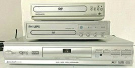 Lot of 3 DVD Players (Magnavox, Philips, Lenora) AS-IS - For Parts or Repair - $13.99