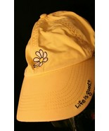 Life is Good Daisy Chill yellow strapback hat cap embroidered - $29.95