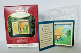 "1997 Hallmark Keepsake ""Little Boy Blue"" Mother Goose Ornament Book #5 U16 - $12.99"