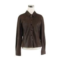 Brown 100% leather D. TERRELL LTD. vintage jacket M - $49.99