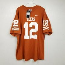 VINTAGE Nike Texas Longhorns Colt McCoy T Shirt XXL 2XL Orange White SS ... - $37.36