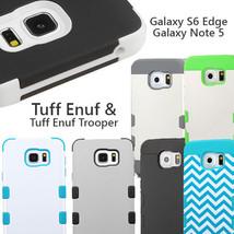 for Samsung Galaxy Note 5 & Galaxy S6 Edge Tuff Enuf / Tuff Enuf Trooper - $9.99