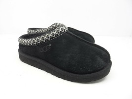 UGG Australia Toddler's & Kid's Tasman Sheepskin Slippers Black Youth Si... - $35.62