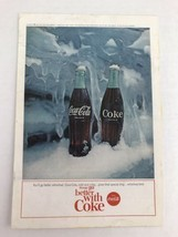 Things Go Better With Coke Coca-cola Vtg 1964 Print Ad - $9.89