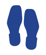 LiteMark Blue Removable Bootprint Decal Stickers - Pack of 12 - $19.95