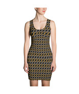 2020 Roman Numeral Luxury Pattern Fashion Dress - $39.95