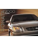 2000 Hyundai SONATA sales brochure catalog US 00 GLS - $6.00