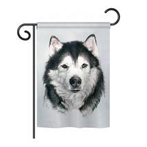 "Husky - 13"" x 18.5"" Impressions Garden Flag - G160092 - $19.97"