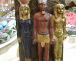 Small Statue of Ancient Egyptian Triad of King Menkaure MADE IN EGYPT