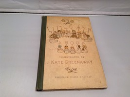 Signed Antique Little Ann A Book Illustrated by Kate Greenaway