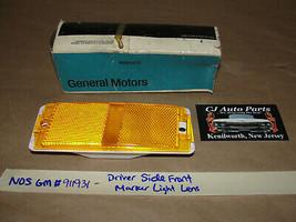 NOS GM 1973 OLDS DELTA 88, 98 LEFT DRIVER SIDE FRONT MARKER PARK LIGHT LENS - $64.34