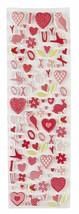 Martha Stewart Crafts Valentine Foam Icon Stickers - $6.92
