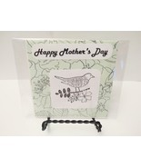 Happy mother's day  handmade blank greeting card, color me - $3.50