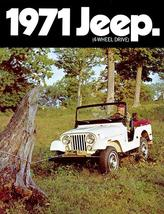 1971 Jeep CJ-5 #2 - Promotional Advertising Poster - $9.99+