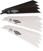 6 In. General Purpose Bi-metal Reciprocating Saw Blade Assortment 12 Pc - $16.49