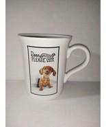 New Hallmark Ashley Garcia Coffee Mug Dog Dachshund Weekend Please Come ... - $22.76