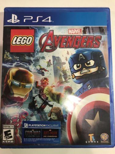 LEGO Marvel's Avengers (Sony PlayStation 4, 2016)