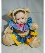 Anthromorphic Stuffed Bear Moveable Legs And Arms No Tag Vintage - $18.70