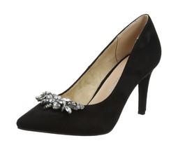 Closed Toe Embellished Gemm UK Heels Dorothy 5 Black Womens Black Perkins 6AqPwWO1