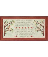 Overheard In An Orchard cross stitch chart Glendon Place   - $12.60