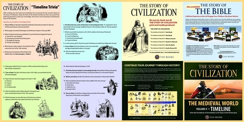 The story of civilization vol. 2   the medieval world  timeline