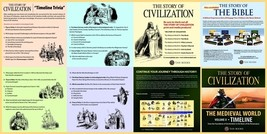 The Story of Civilization: Vol. 2 - The Medieval World (Timeline)  - $20.95