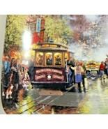Thomas Kinkade Postcard From San Francisco 1994 Porcelain Collector Plate - $18.70