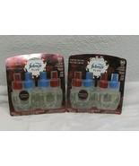 Febreze Limited Edition Fresh Cranberry Dual Oil Refill Air Freshener Pl... - $32.66
