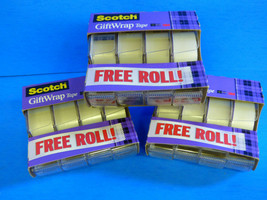 "Scotch Giftwrap Tape 3/4 "" x 325 Inches 12 Rolls Strong and Secure Disap... - €9,38 EUR"