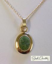 Vintage Sarah Coventry  Jewelry - #8200 Three piece Jade Set - $30.89