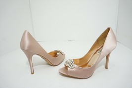 Badgley Mischka Lavender II Women's Bridal Evening Heels Pumps 8.5 M Blu... - $96.03