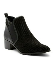 $248 DONALD PLINER Darla Perforated Western Look Chelsea Bootie sz 9.5 M - $96.53