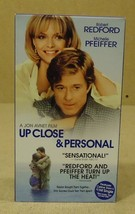 Touchstone Up Close & Personal VHS Movie  * Plastic Paper - $4.34