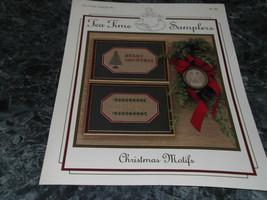 Tea Time Sampler #3 Christmas Motifs - $3.99