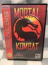 Mortal Kombat (Sega Genesis, 1993) Video Gioco - $31.23