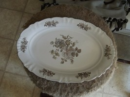 Winterling Empress platinum 13 3/4 inch oval platter 1 available - $11.29
