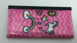 Royal Deluxe Accessories Pink Unicorn/Rainbow Clutch Wallet, Free Shipping - £10.54 GBP