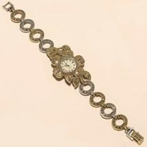 Thailand Marcasite Wrist Watch 925 Sterling Silver Engagement Fine Jewel... - $53.56