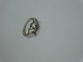 925 sterling Silver mount Ring, Oval- 5X7 mm,RI-0305,ring,all size avail... - $10.70