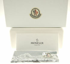 MONCLER MC017-S04 Yellow Clear / Green Sunglasses MC 017S-04 image 4