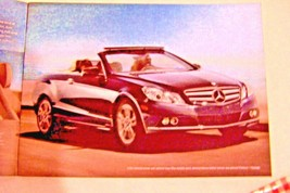 2011 Mercedes  e Class e350 e550 owners sales brochure coupe cabriolet w212 new - $15.59
