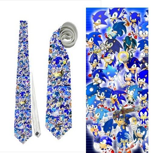 necktie sonic collage wedding grooms nerds