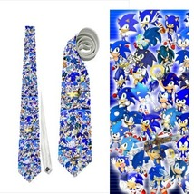 necktie sonic collage wedding grooms nerds - $22.00